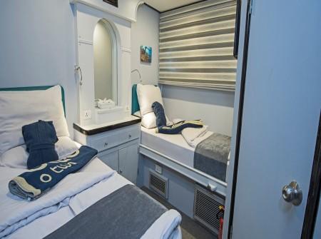 M/Y Red Sea Adventurer en-suite cabin