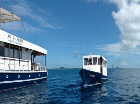 sea spirit dhoni, Maldives