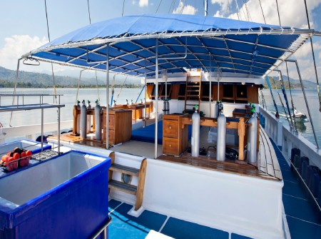 Indonesia, Indo Siren, Deck area, image,