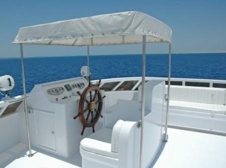 M/Y Blue Fin Red Sea Liveaboard Sun-Deck