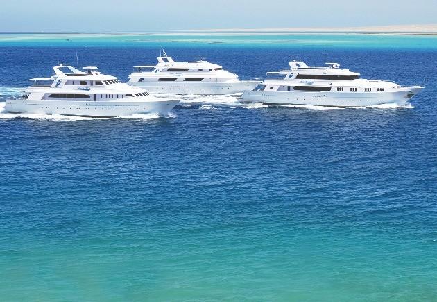 Blue O Two liveaboard fleet sailing Egypt, Red Sea