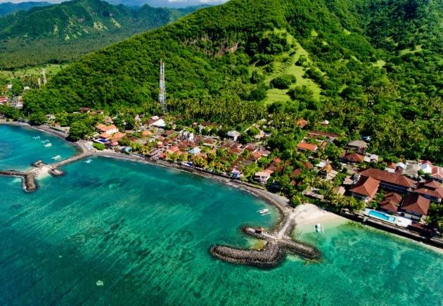 Indonesia Bali, Waterfront Jettys