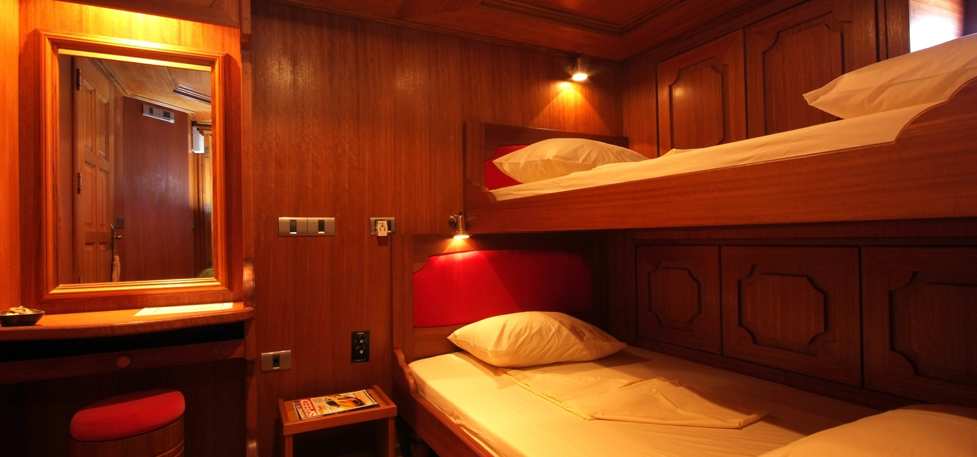 twin room, Sea Spirit, Maldives