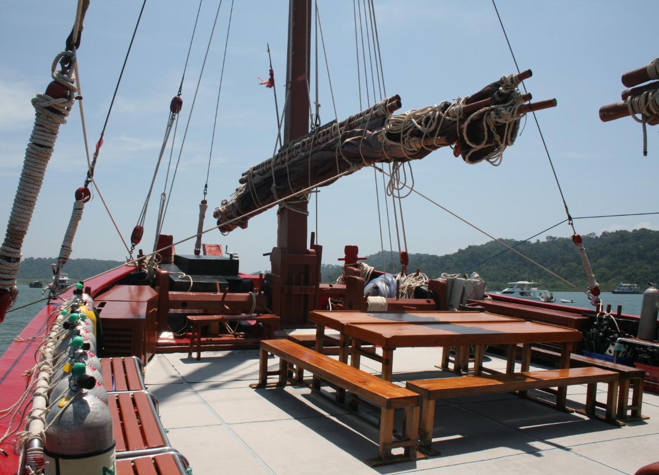 Main deck bow area
